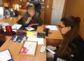 Ольга Алимова встретилась с жителями Балтайского и Новобурасского районов