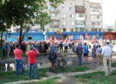 Митинг протеста в Энгельсе