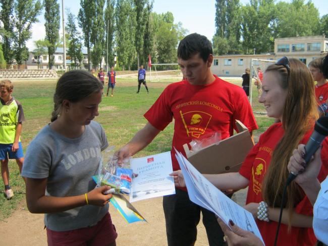 В Балаково состоялся турнир по дворовому футболу