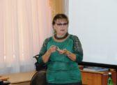 Ольга Алимова встретилась с учителями новобурасской школы