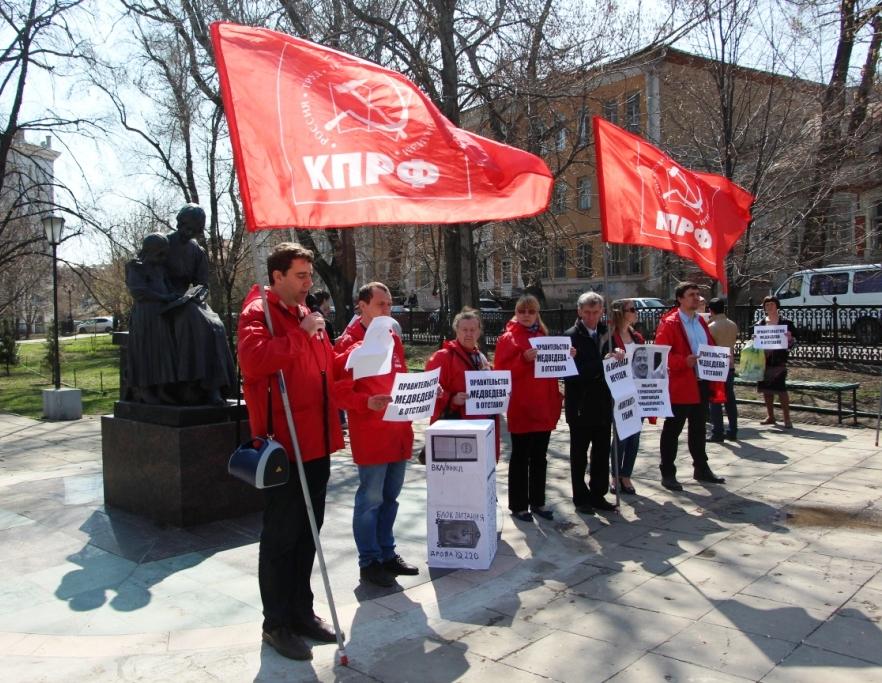 Визит Медведева не только «благоустраивает» Саратов, но и активизирует оппозицию