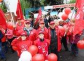 Романовские коммунисты приняли участие в праздновании Дня Победы