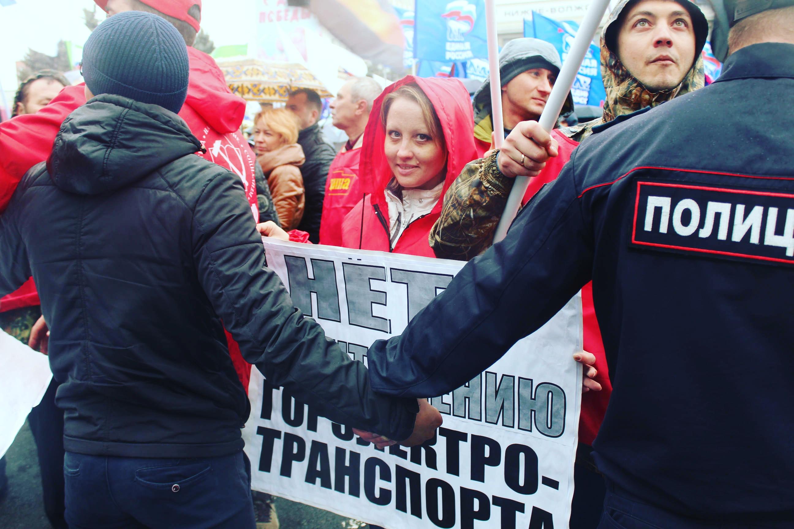Саратовская полицейщина против активистов КПРФ