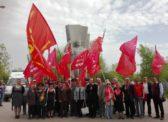 Саратовские коммунисты приняли участие в памятном мероприятии на Воскресенском мемориальном кладбище