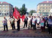 Ершов. Митинг КПРФ против повышения пенсионного возраста