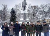 Балашовские коммунисты почтили память В.И. Ленина.