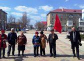 Ершов. Митинг КПРФ против антинародной политики власти