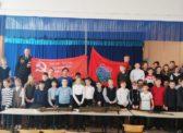 Саратовские комсомольцы провели открытый урок, посвящённый юбилею Великой Победы