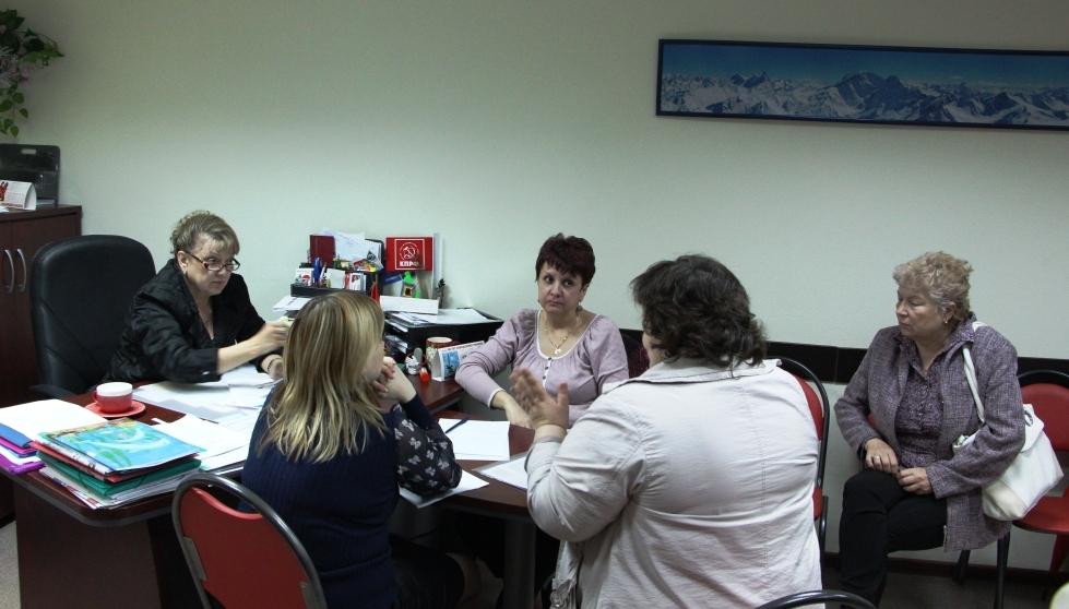 Ольга Алимова провела приём граждан