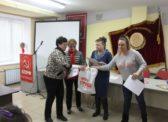 Саратов. Торжественное собрание посвящённое празднованию Международного женского дня 8 марта