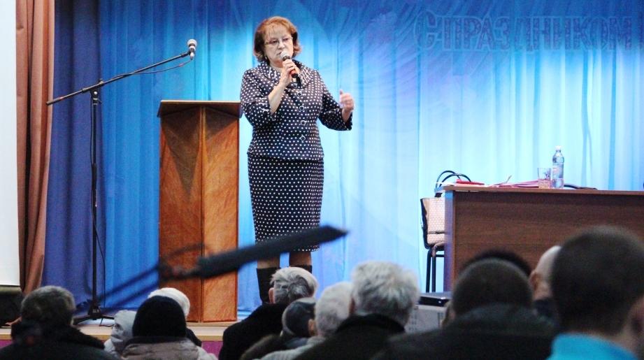 Ольга Алимова провела встречу с жителями Петровска