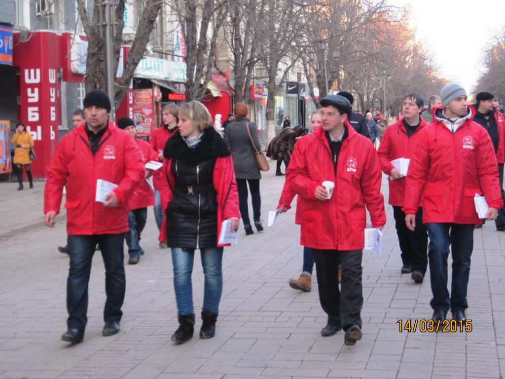 По Саратову прокатилась «Красная карусель»