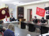 Пресс-конференция Ольги Алимовой и Александра Анидалова