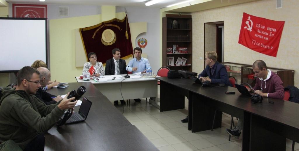 Пресс-конференция КПРФ: «Саратовский регион остается зоной сплошной фальсификации выборов!»