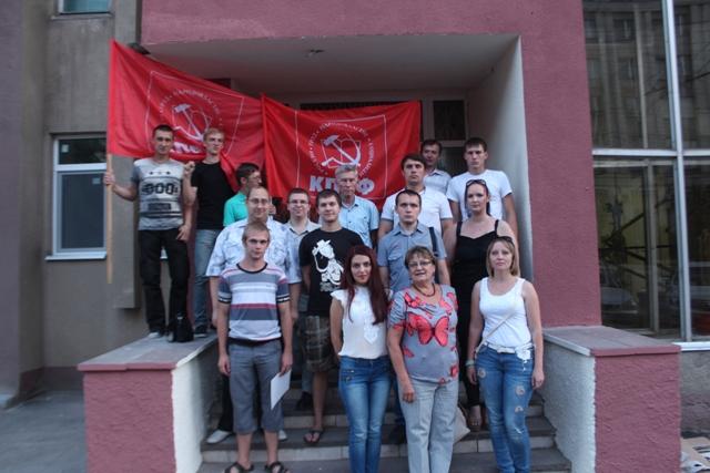 Ольга Алимова встретилась с молодыми активистами КПРФ