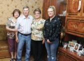 Ольга Алимова поздравила с юбилеем ветерана