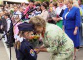 Ольга Алимова поздравила первоклашек Сторожевской школы с началом учебного года