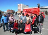 Саратовцы поддержали интернет-акцию КПРФ «Цвет Победы – красный!»