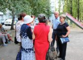 Ольга Алимова встретилась с жителями Ленинского района