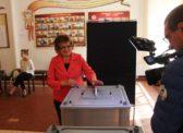 Ольга Алимова голосовала за партию победителя – За КПРФ!