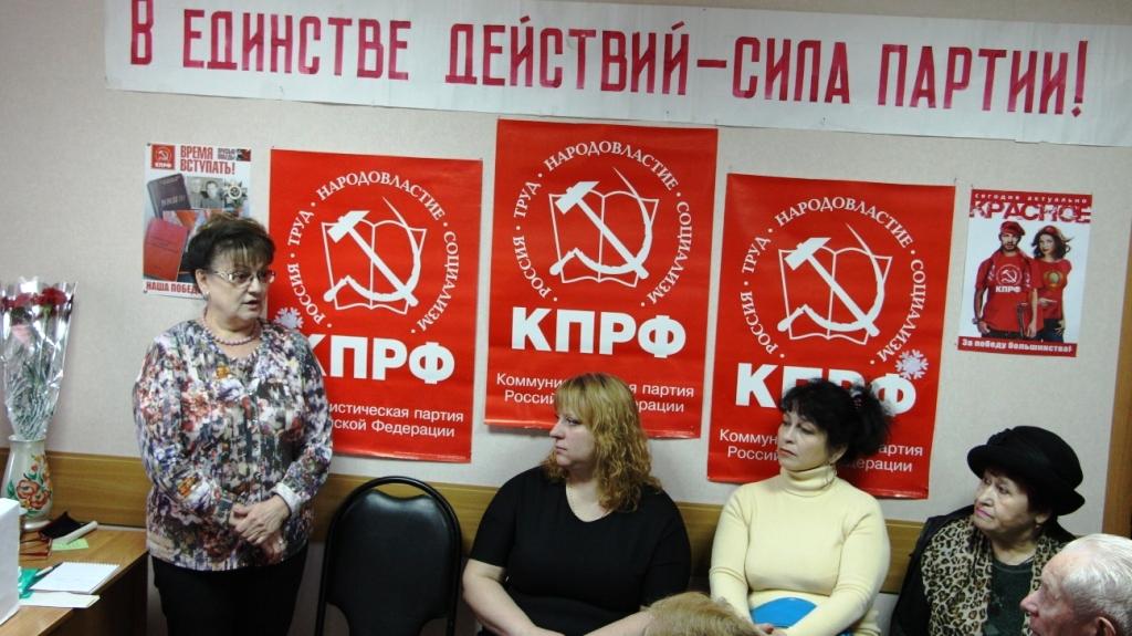 Ольга Алимова: на партийной работе выходных не бывает