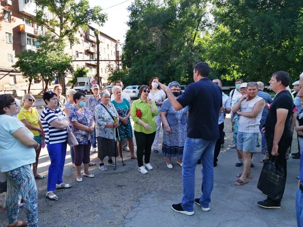 Энгельс. Встреча депутата-коммуниста Анидалова А.Ю. с жителями города
