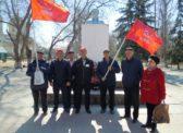 В г.Новоузенске и с.Дмитриевка состоялись митинги посвященные 149-й годовщины со дня рождения В.И.Ленина