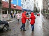 Активисты  Ленинского РК КПРФ встречаются с работниками предприятий