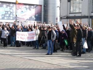 Акция протеста владельцев маломерных речных судов (видео)