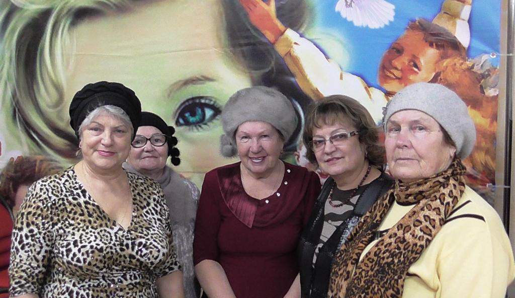 Организационное собрание Волжского местного отделения «Всероссийского женского союза «Надежда России» и «Дети войны»