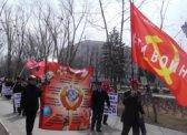 В Саратове состоялся «Марш пустых кастрюль»