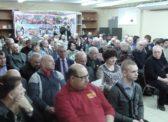 Торжественное собрание в Саратовском обкоме КПРФ