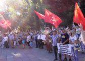В Саратове прошёл второй митинг против повышения пенсионного возраста, роста цен и налогов