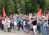 Саратовцы выступили в защиту Павла Грудинина и совхоза имени Ленина