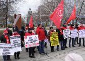 В Саратове состоялся массовый митинг КПРФ