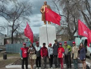 Коммунистический субботник в г. Балаково