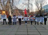 В Саратове прошел пикет КПРФ