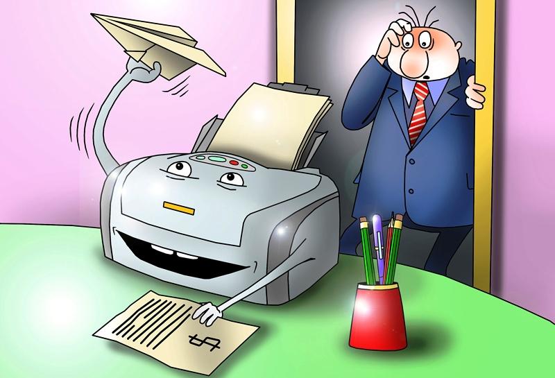Бешеный принтер: «обнулить»  очередь на печать