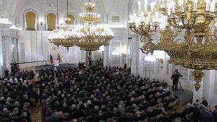 Мелкотемье «отца нации», левопатриотическая мимикрия, антирусская риторика. Экспресс-анализ десятого президентского послания Путина