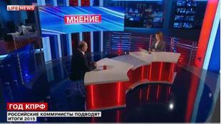 Г.А.Зюганов — LifeNews: 225 коммунистов в Госдуме — и всё будет по-другому