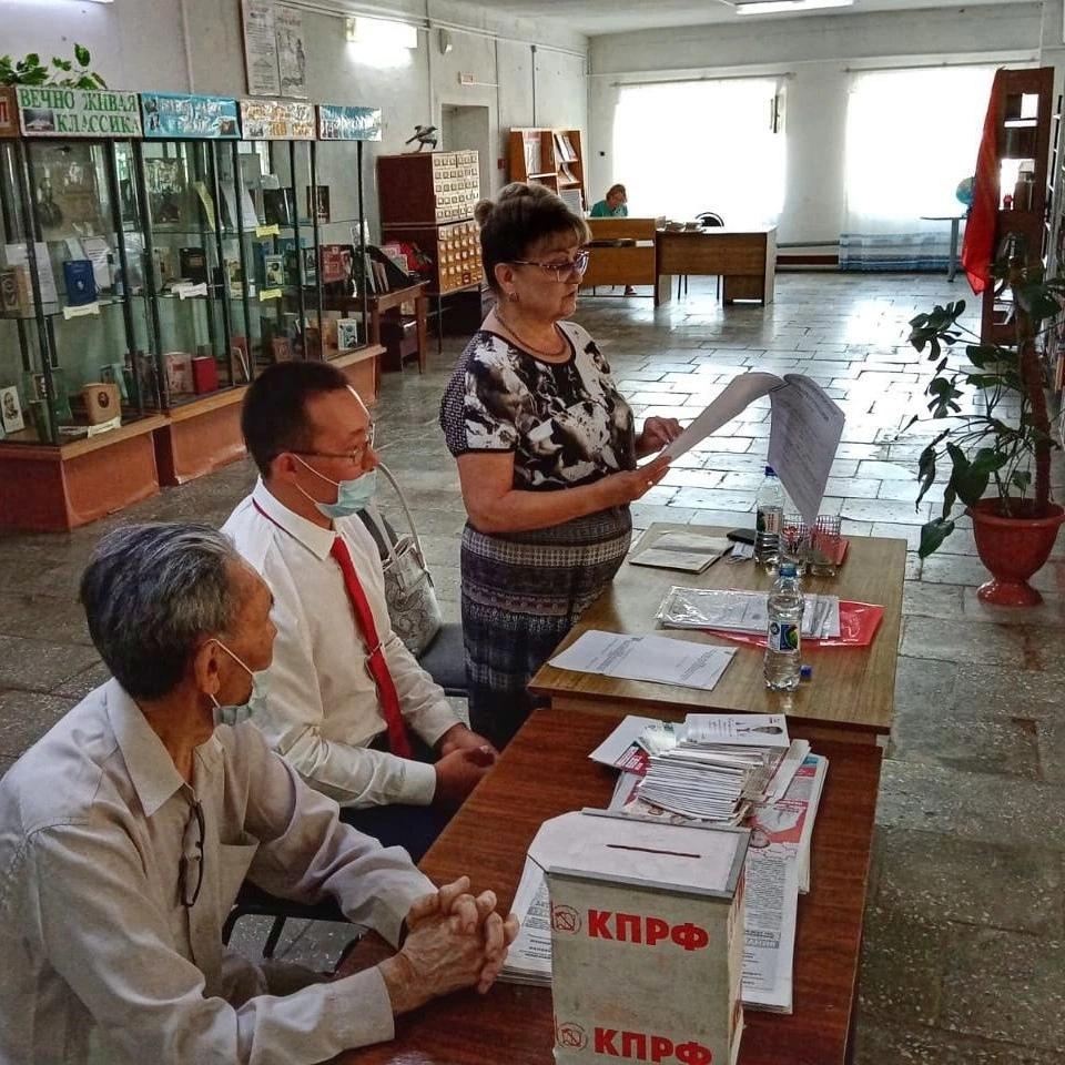 Ольга Алимова встретилась с жителями Александрово-Гайского района