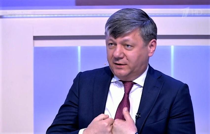 Дмитрий Новиков в эфире Первого канала: «Кукловоды белорусских протестов прибегают к фашистской риторике»