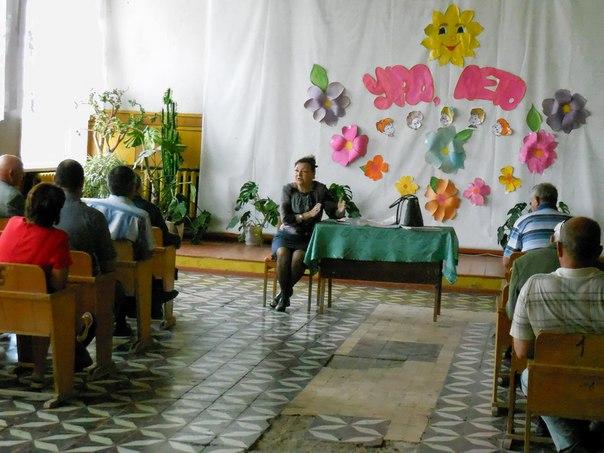 Ольга Лубкова встретилась с жителями Ершовского района
