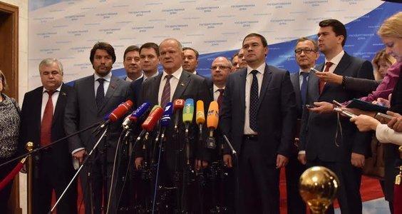 Г.А. Зюганов: Надеюсь, что Госдума проявит волю, характер и разум, чтобы ответить на вызовы времени