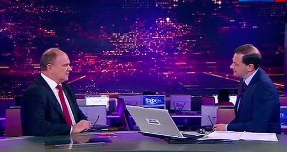 Г.А. Зюганов выступил в программе «Вести в субботу с Сергеем Брилевым» на телеканале Россия 1