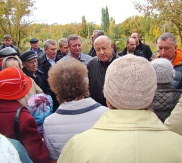 Саратов. Борьба жителей за парк продолжается