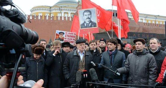 Г.А. Зюганов: «Незаконная власть на Украине не получала мандата трудящихся». Видео