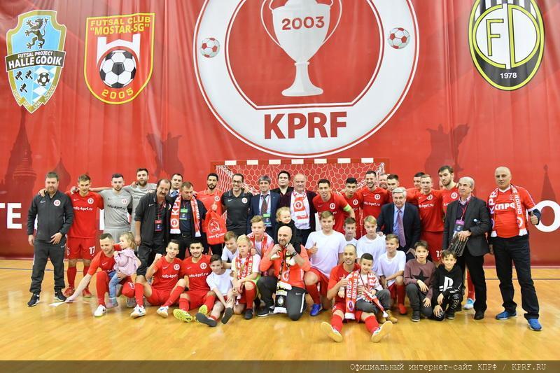 МФК КПРФ — чемпион России!