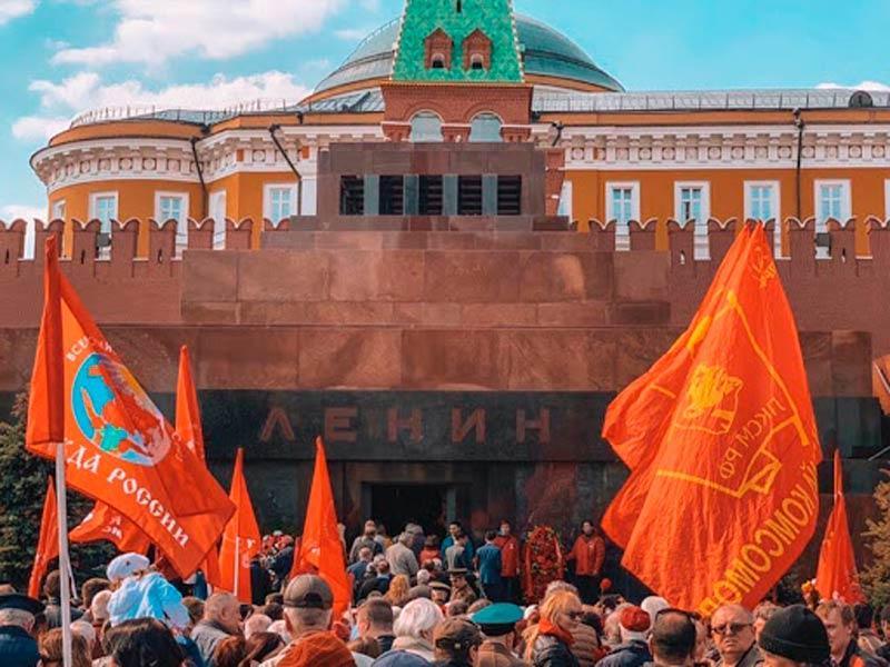 ЦК ЛКСМ РФ: Руки прочь от Владимира Ильича Ленина!