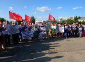 Пугачев. Народ против «завода смерти» в Горном!